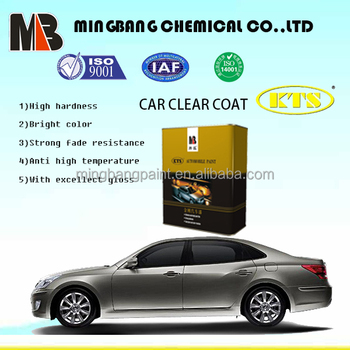 Acrylic spray application car paint lacquer