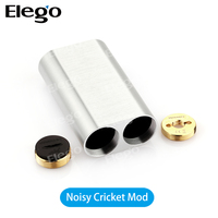 2016 New Best Vape Mechanical Mod Wismec Noisy Cricket Mechanical Box Mod E Cigarette