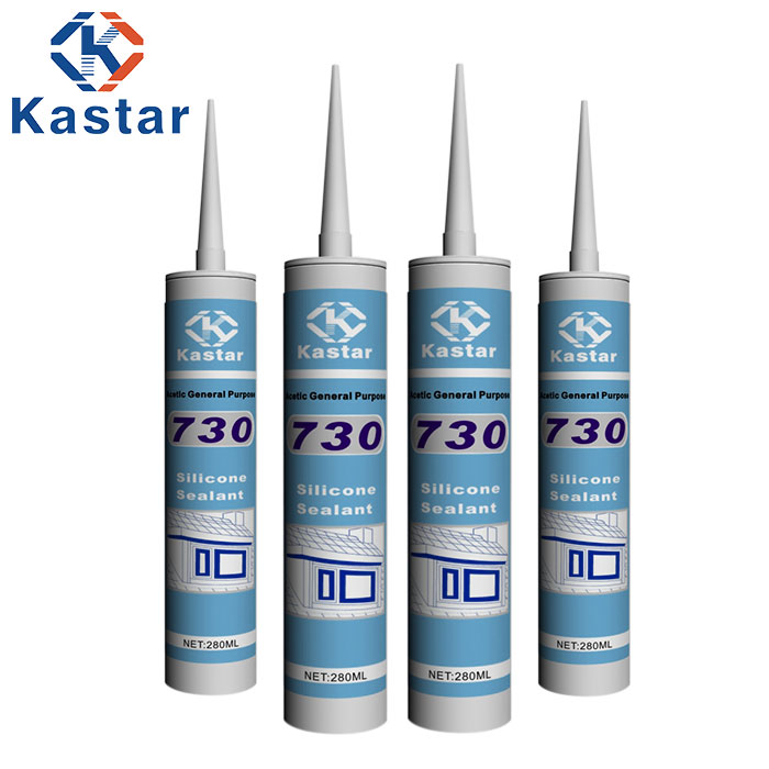 GP silicone sealant and adhesive for plastic bonding