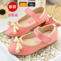 666 Fashion baby girl princess shoes diamond soft sole baby first walking shoes