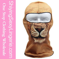 Cheap Wholesale Lion Cool Motorcycle Face Mask Halloween Costumes