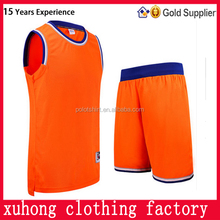 Blank sporting wear china cheap basketball jersey with team logo and name number