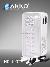 long standby powered 28LED emergency lights fast heat