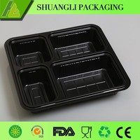 plastic food container with divider wholesale