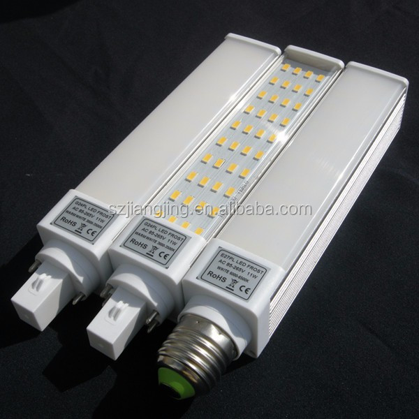 High brightness powerfull led light lamp g24/g23/e27 corn PL light