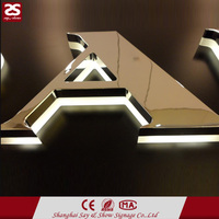 Top Sale Stainless Steel Acrylic 3d