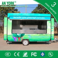 2015 HOT SALES BEST QUALITYfiber glass food cartpearl pannel food cart motorcycle food cart