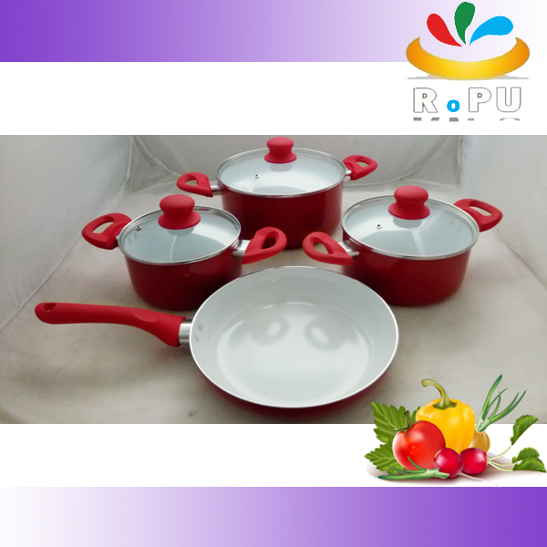 HOT selling induction ceramic cook ware / cookware set kitchen wares