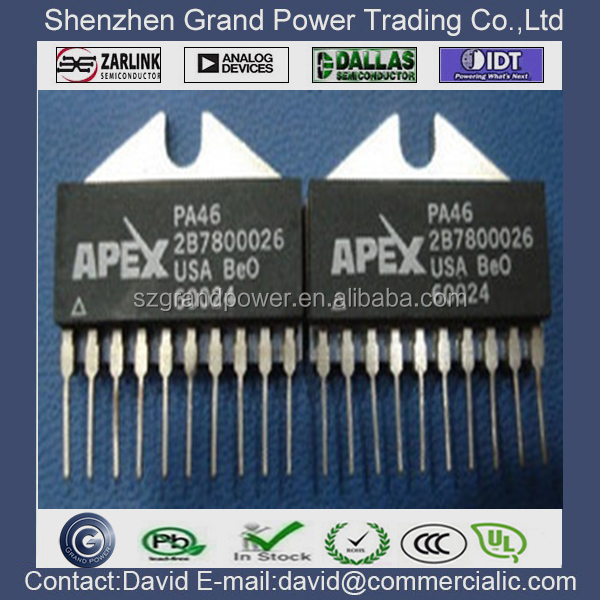 PA46 HIGH VOLTAGE POWER OPERATIONAL AMPLIFIER