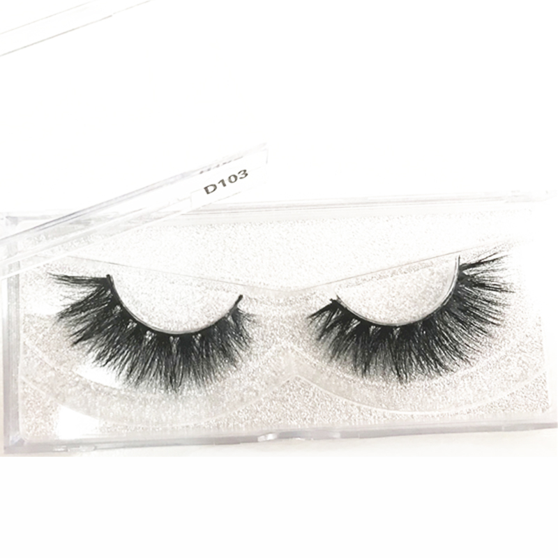 Private Label Lash Full Strip Eyelash Thick Fluffy Eyelashes Vendor D series 100% 3D Mink Lashes