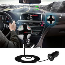 Magnetic Handsfree Call Multifunction Wireless Bluetooth Car Kit with Charger Mp3 Fm Transmitter Music Holder Auto Speakerphone