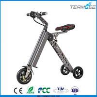 250w power new folding three wheel electric scooter for adults with brushless motor