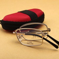 ZEST Men And Women Anti Fatigue Folding Reading Glasses