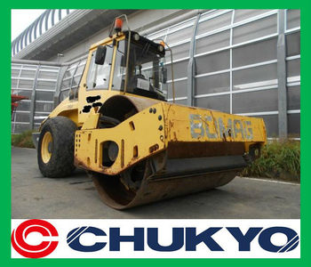 Bomag BW211D-4 Used Road Roller <SOLD OUT>/ Rops Cabin