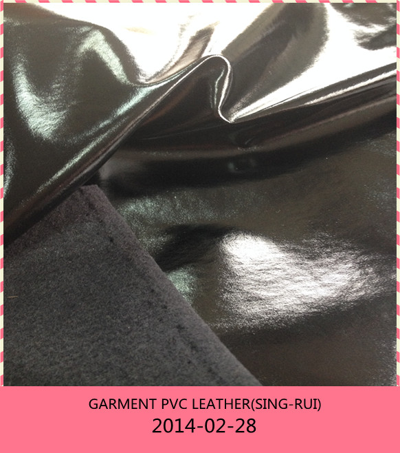 PVC Leather for Garment with soft handfeel