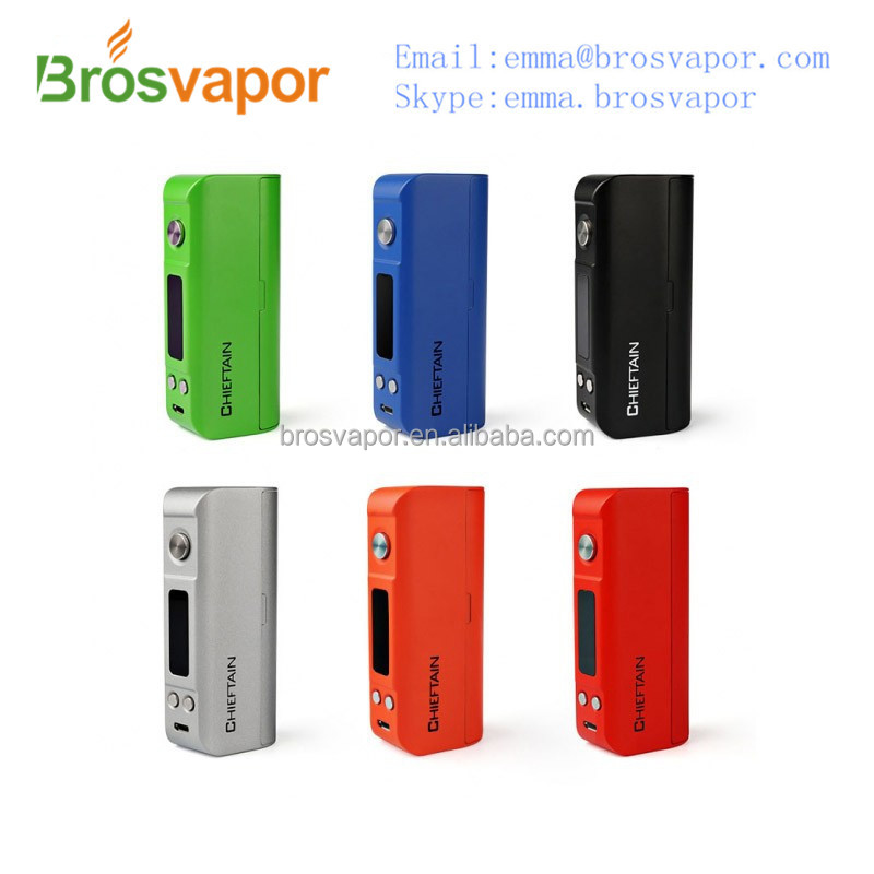 specials Authentic Wotofo Chieftain 80W Box Mod TC Kit Sterntorian 80w from brosvaopr