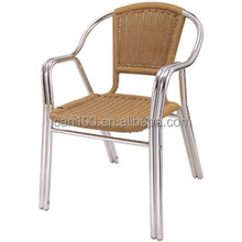 Wholesale wicker outdoor garden furniture with aluminum frame