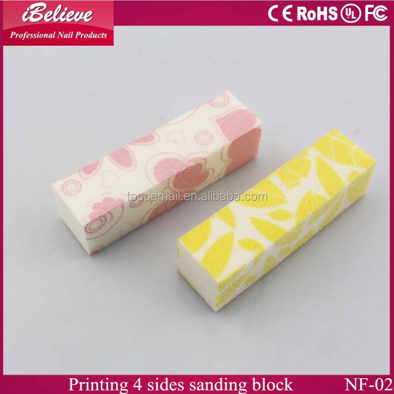 2016 professional custom design plastic nail file case for nail art