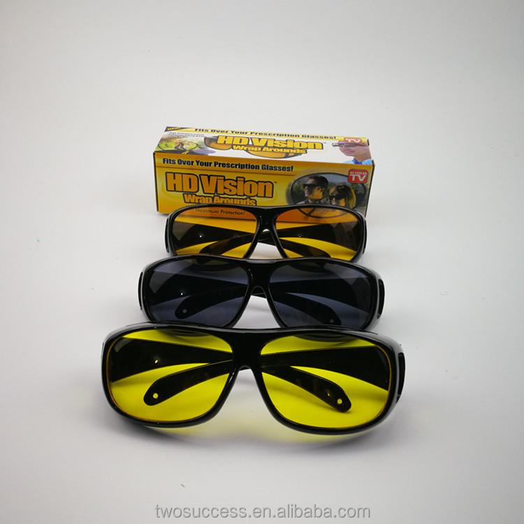 Night Driving vision HD Glasses Prevention Yellow Driver Sunglasses polarized TT