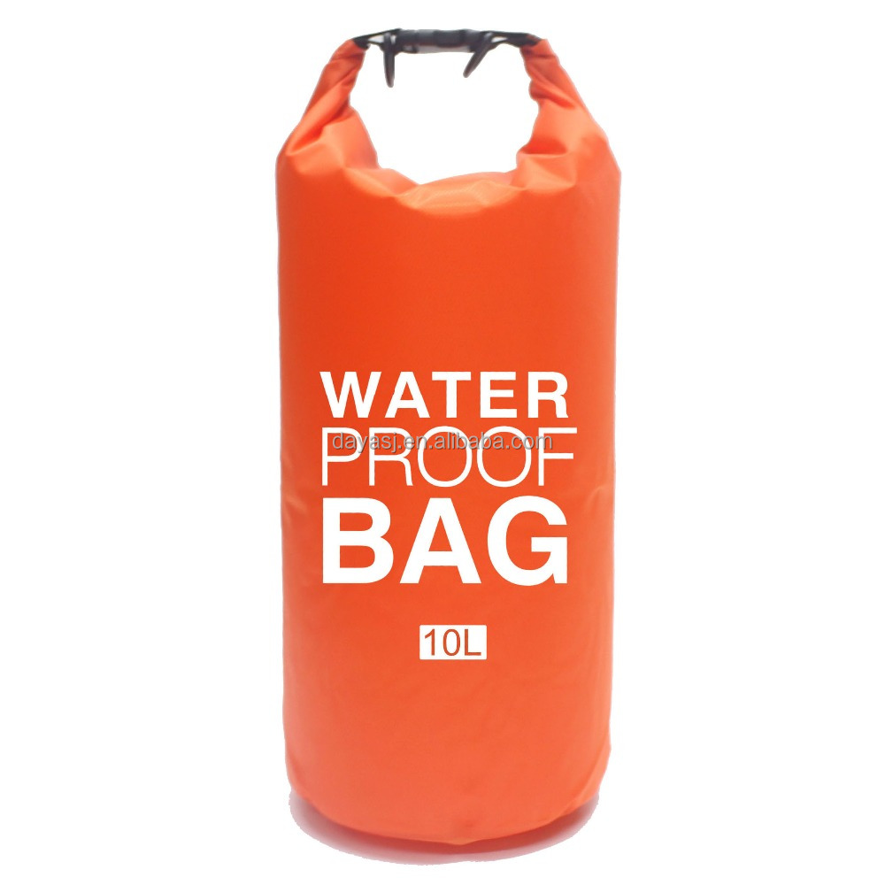 MARJAQE Waterproof Dry Bag 10L Polyester Customizable logo colors Factory Outlet