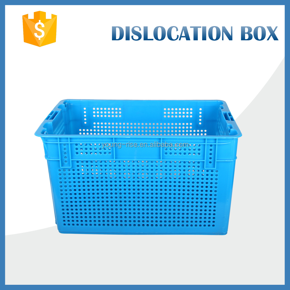 Misplaced stackable agricultural use large plastic containers plastic crates for fruit