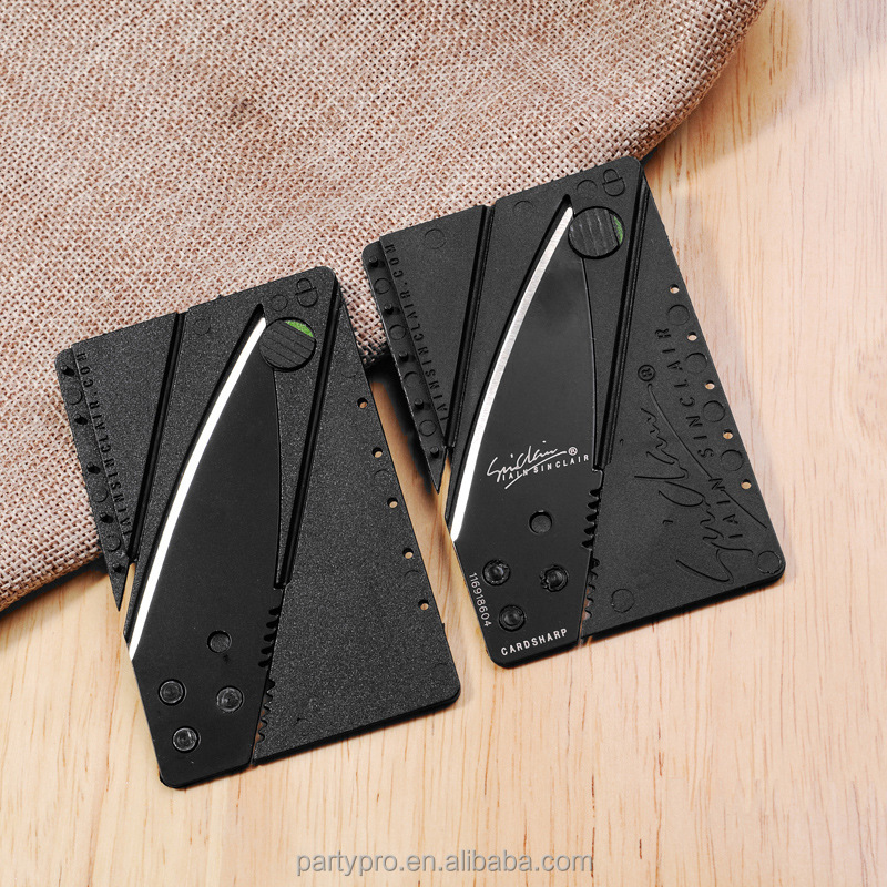 2017 Hot Sale Credit card folding knife multi tool pocket knife