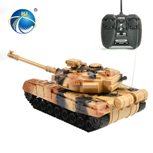best selling light turret rotation infrared toys rc tank tracks with battery