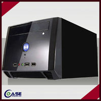Cabinet thin itx computer case/mini deluxe pc case hot selling