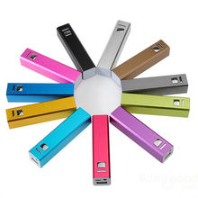 Rectangle Promotional USB Travel Charge 2600mah 8000mah Power Bank For Smartphone