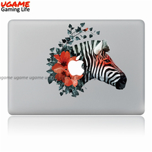 New zebra design surface decal for macbook stickers