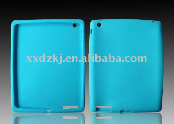 blue for ipad 2 silicone case in stock via paypal