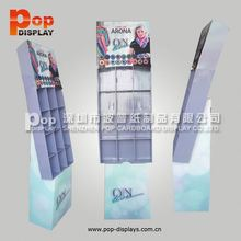 good quality paper display rack for make-up products