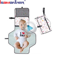 Travel nappy changing mat portable travel baby diaper changing station