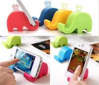 universal car phone holder chair mobile phone holder Foldable cell Mounts & Movie Base Collapsible Stand seat for Iphone Elephan