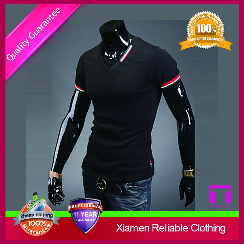 2016 trade assurance custom hign quality comfortable gym slim fitted wholesale t-shirt distributor
