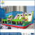 Cheap inflatable funny animal zoo bouncer/cartoon theme bouncy castle for kids