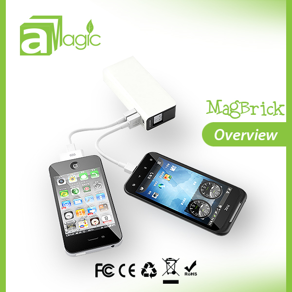 5200mah pocket rechargeable battery for iphone, ipad, samsung, htc, huawei, lg, blackberry, lg...