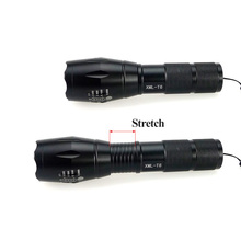 LED Flashlight T6 ZOOM Waterproof Lanterna LED 5 Modes Zoomable AAA or 18650 battery Flashlight Torch Lamp 2400lm