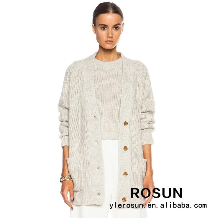 Cardigan Sweater Wholesale From Guangzhou Knitwear Cardigan Manufactures