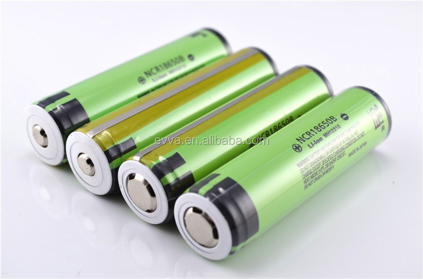 Protected original 3400mAh 18650 battery with PCB for NCR18650B