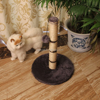 Durable service new arrival column tree cat scratcher furniture for cat toy