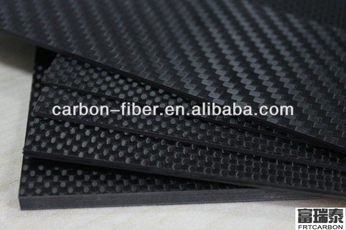 3K carbon fiber laminated sheets be substitute for steel plates