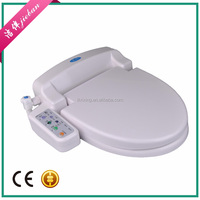 soft and slow close bathroom design plastic one piece electrical bidet toilet
