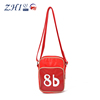 ZQ-K-020 Dongguan PU leather factory manufacture BSCI teen messenger sports Bag