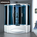 K-7062 Ukraine Steam Shower With Whirpool Bathtub Shower Cabin Steam Room
