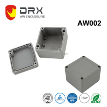 80x75x57mm IP67 Small Housing Aluminum Electronic Enclosure