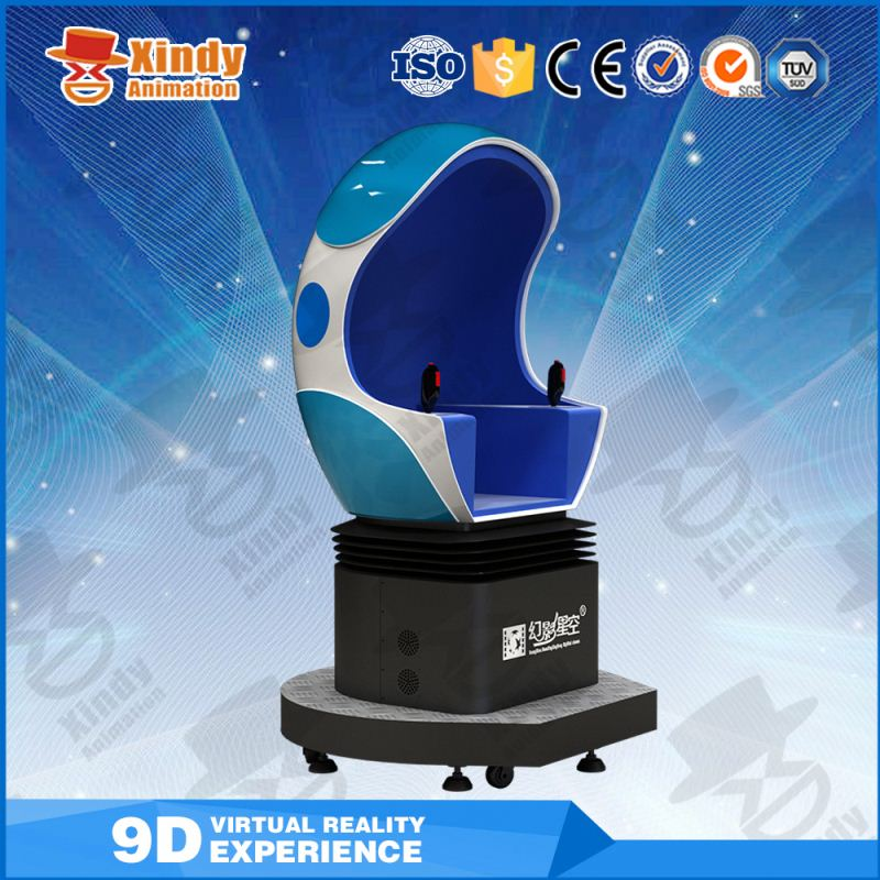 Quality and quantity assured egg chair 9d vr with 3d virtual 9d vr cinema system 6 seats