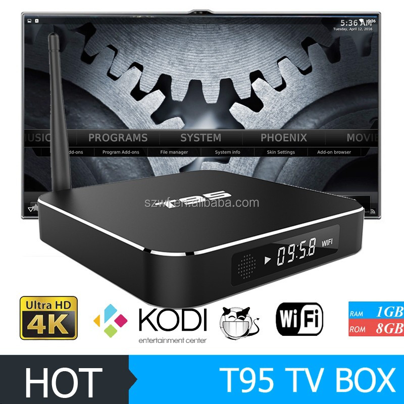 new design full hd 1080p video android tv box xbmc t95 world max tv box amlogic s905 android tv box s905 2gb ram