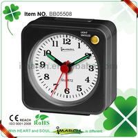 BB05508 good selling mini travel alarm clock