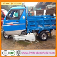China Supplier 2013 New Design Low Emission Super Price 3 Wheel Motorcycle with Roof for Sale